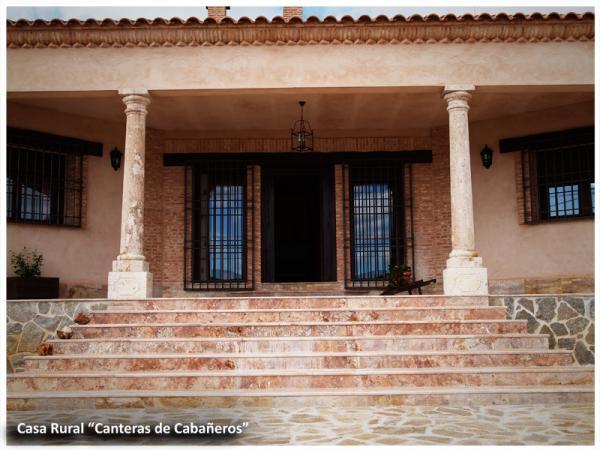 Exteriores nuestras instalaciones casa rural las - Porche entrada vivienda ...